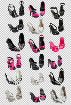 Barbie T2356 - Barbie Basic Kollektion Accessory Pack Schuhe - Look 2 Sammlung 1,5