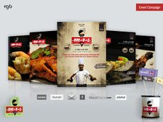 Spice Story - Barbecue Festival Advertising - 360 Marketing Campaign on Web, Social, Email platforms