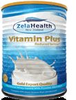Zela™ Vitamin Plus    delivers the same great benefits of Balance Plus, with the addition of of Vitamins A, B, C, D, K, Magnesium, Zinc, Selenium, Manganese, Chromium and Molybdenum.