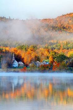 11 Epic Fall Foliage Road Trips - When it comes to clichéd fall faves, we'll cop…