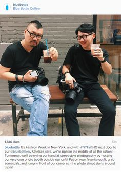 Great Instagram post from Blue Bottle Coffee in New York, NY / Sympathique post Instagram de Blue Bottle Coffee à New York, NY https://instagram.com/p/7dqp1CoDBo/
