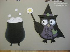 Both pieces use the owl punch