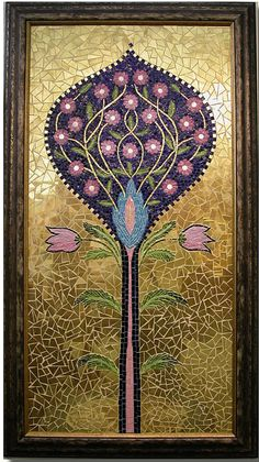 Tree of Life, mosaic by delphinamosaic.com