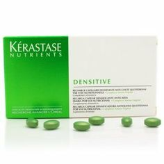 KERASTASE NUTRIENTS - DENSI RECHARGE (36 PILLS PER BOX) NEW! by KERASTASE. $97.99. Kerastase Densitive is an anti-hair thinning, anti-hair loss dietary supplement. Densitive works from within the body to help maintain scalp microcirculation and encourage thick, dense, and shiny hair. A fantastic hair-loss prevention solution from Kerastase.