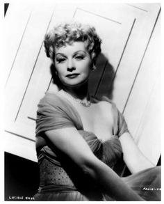 Lucille Ball. 1950.