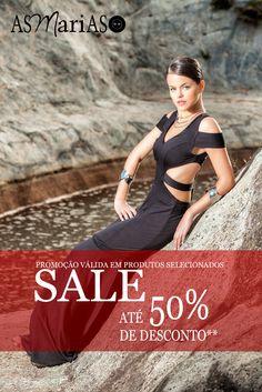 Eeeeeee  começa a nossa Promoção tão esperadaaaaa .... Corre para @asmariasofficial Aproveitar !!! Descontos de até 50%  { A/V } Em grande parte da coleção  !!!!!!!!!! Estamos esperando por vcs ... Façam seus pedidos !!!!! #SaleAsMariasOfficial #PromoçãoAsMariasOfficial #SummerSale #SS16 #ColeçãoFuturismoRetrô #Promoção #LíquidaTudo #VemParaAsMariasOfficial #ModaNoAtacado #ModaFeminina #AsMariasOfficialAma #VemAproveitar  Fale Com Sua Vendedora