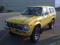 In 1981 Winnebago took the Toyota 4x4 pickup and replaced the metal bed with a walk-through (ok, crawl-through) fiberglass back end.  It had a bench seat and was a precursor to the modern SUV and I'm proud to have owned one.  I bought it new and it was Awesome, taking me places I had no business going.