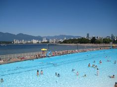 Incorporate family fun in the outdoors this summer by visiting Metro Vancouver pools in your neighborhood. Vancouver Kitsilano Pool – 2305 Cornwall Street - visit we Victoria Day Weekend, Queen Elizabeth Park, Family Fun Day, Stanley Park, Kid Pool, New Brighton, Local Events, Beach Pool