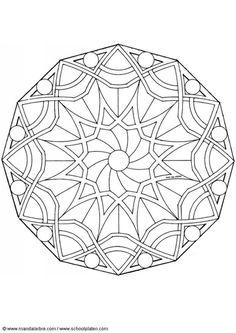 Coloring page mandala-1502z