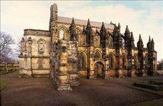 Roselyn Chapel in Scotland