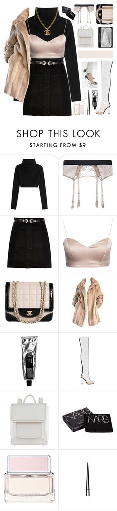 """HAPPY NEW YEARS EVE ANGELS! ♡"" by d-isappear ❤ liked on Polyvore featuring Valentino, Fleur of England, River Island, Chanel, Lilli Ann, ALDO, NARS Cosmetics and Givenchy"