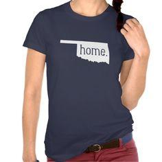 Oklahoma Home State T-Shirt