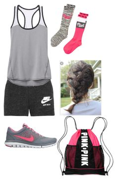 """Peru day 12"" by rikey-byrnes on Polyvore featuring NIKE, Athleta and Victoria's Secret"
