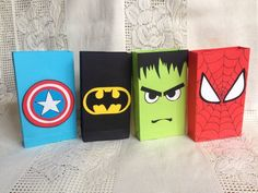 super hero party bags set of 12 Source by Setssuper hero party favors. super hero party bags set of 12 Source by Sets Superhero Party Favors, Superhero Birthday Party, 4th Birthday Parties, Hulk Birthday, Avengers Birthday, Hippie Birthday, Hulk Party, Birthday Cards For Her, Goodie Bags