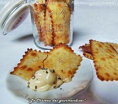Crackers con farina di ceci e rosmarino - Rosemary crackers with gram flour