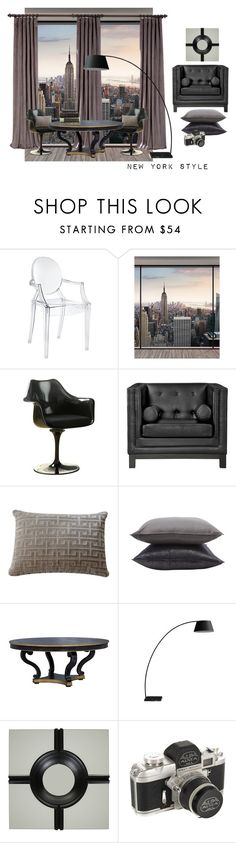 """new york style"" by home-23b on Polyvore featuring interior, interiors, interior design, Casa, home decor, interior decorating, Wall Pops!, Rove Concepts, Jayson Home e Amara"