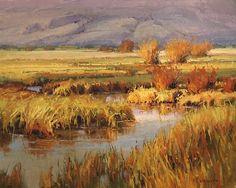 Teton Creek Color by Kim Casebeer Oil ~ 16 x 20