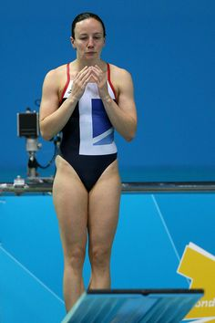 Rebecca Gallantree - Diving. Women's 3m & 3m synchronised.