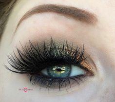 Copper & Metallic Deep Moss Fall Smokey Eye Makeup Tutorial - Makeup Geek