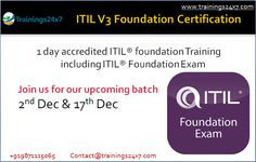 #ITIL #Foundation #Certification #Training: