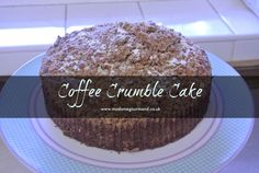 If you like Coffee cake you will love this simple coffee crumble cake.