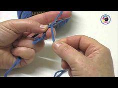 Aprende a tejer con LANAS STOP.  Cordón de monja