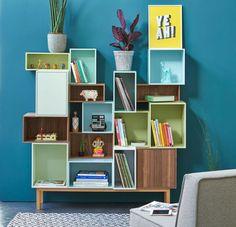 Un mobilier pratique et modulable pour organiser un petit espace !