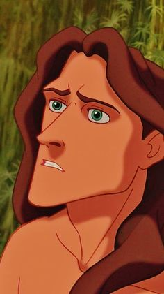 Tarzan -- He is probably my favorite male Disney character. He is so personable and sweet and I love the way he adores Jane. Plus he has like... a jawline to kill. ;)