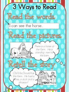 Daily 5: Read to Self in Kindergarten Plus a freebie!