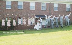 NC Wedding / Wedding Photography / Wedding Party / Bridal Party