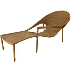 Sculptural Wicker Lounge Chair by Francis Mair ca.1960