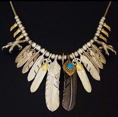#goros#old#turqoise#feather#new#eagle#claw