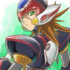 megaman x zero axl anime - Buscar con Google