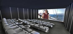 45-seat Imax Style Theater