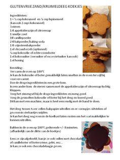 gluten- en granenvrije zand-kruimeldeegkoekjes - low carb