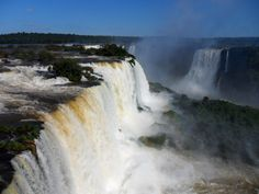"See 851 photos and 129 tips from 23220 visitors to Foz do Iguaçu. ""Fantastic views on the waterfalls! Be sure to see these falls first and then go to. Iguazu Falls, Niagara Falls, Waterfall, Around The Worlds, Places, Nature, Outdoor, Brazil, Waterfalls"