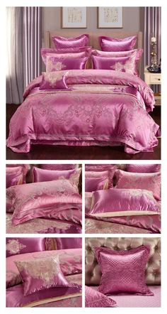 Visit ProminentEmporium.com to check out our Collection of the Best Luxury Bedding Sets that includes Satin Silk Bedding Sets, Egyptian Cotton Bedding Sets, 10 Pieces Bedding Sets, Embroidery Bedding Sets and many more. Out bedding set are speically made with High Thread Count fabric to create a softer touch bedding while increasing the durability of such bedding sets. Now you can decorate your bedroom with minimum effort. #luxury #bedding #luxurybedding #beddingsets #duvetcover #duvet #bed