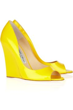 who else but Jimmy Choo. Bold, bright and glam to the max!