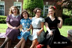 USO Party!  1940s clothes, big band music, swing dancing, and a fundraiser for the troops.  Great theme idea for a school or church dance, youth conference, etc.