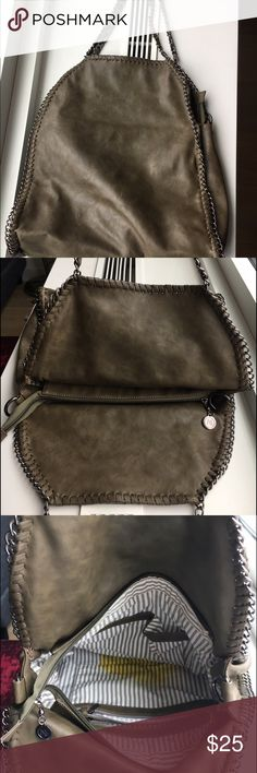 Cute and useful purse!!! Greenish/brownish bag. One stain on the inside, but I'm sure you can wash it out. Willing to take a lower offer!! :) Bags Shoulder Bags