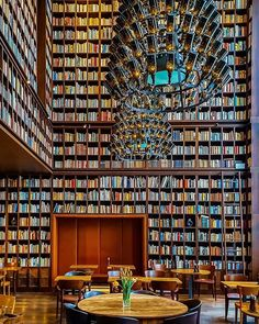 Talk about the perfect pairing! The Wine Library in Boutique Hotel + Spa in Zürich is ideal for literature and wine lovers alike! Instagram Worthy, Photo Instagram, Library Cafe, Unique Cafe, Coffee Places, Home Libraries, Built In Bookcase, Bookshelves, Hotel Spa