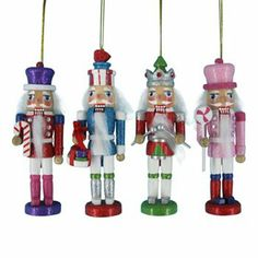 nutcracker christmas ornament set - Nutcracker Christmas Ornaments