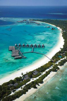 Shangri-La's Villingili Resort and Spa in the Maldives #WorldsBestHotels2014