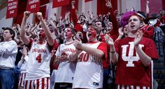 IU Hoosier Students ,and Fans