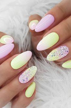 Romantic Nails, Elegant Nails, Stylish Nails, Ongles Rose Pastel, Pastel Nails, Fabulous Nails, Gorgeous Nails, Pretty Nails, Fall Acrylic Nails