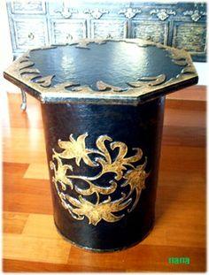 #당초무늬의자 #dangcho pattern chair #한지공예 #hanji #hanji craft