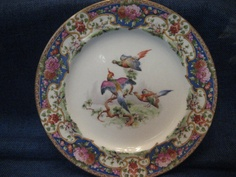 Vintage Shelley China Plate Old Sevres by GoodysFromThePast, $45.00