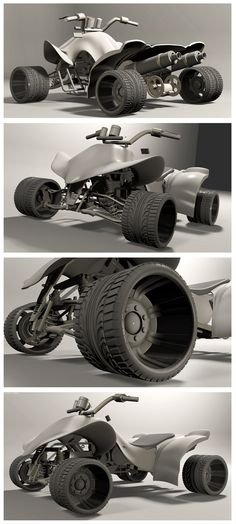 Week 2 of Portfolio Foundations... I focused on the tire treads and the rims.