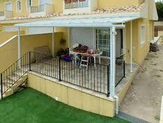 Resultado de imagen para techos para terrazas