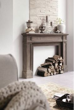 """Liked on Pinterest: put this under rustic but only because of the simplicity and textures if it is rustic it is definitely """"rustic glam"""""""